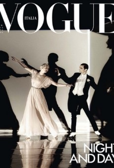 Vogue Italia's April Cover Reminds Us of a Hitchcock Movie (Forum Buzz)