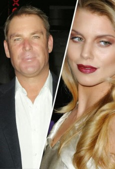 Shane Warne and AnnaLynne McCord Strike Up Flirty Relationship
