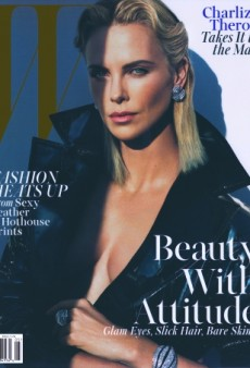Charlize Theron Gets Overshadowed on W's May Cover (Forum Buzz)