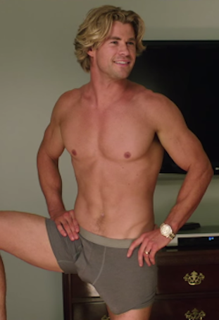 Chris Hemsworth Vacation