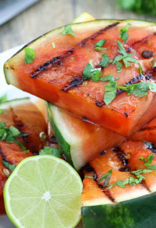 Cilantro Lime Grilled Watermelon 2