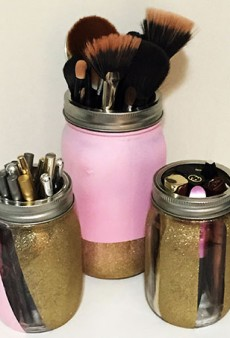 Spring Clean Your Beauty Collection with These DIY Mason Jar Organizers