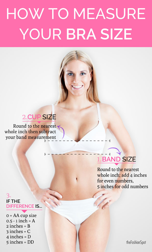 how to measure bra size using our bra size calculator