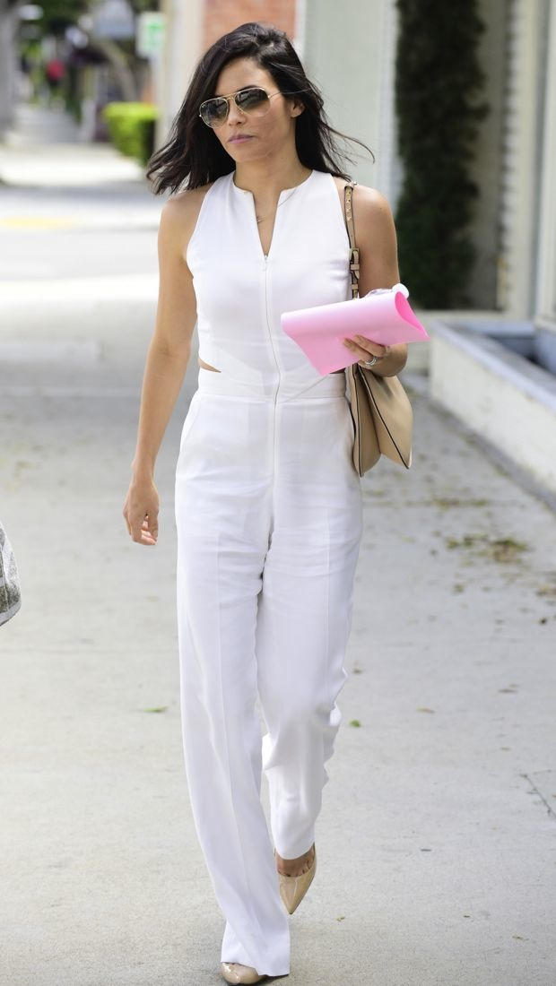 Jenna Dewan Tatum Nails Easy Breezy Spring Style in A.L.C.