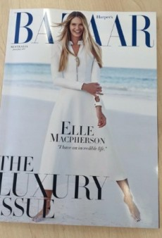 Elle Macpherson Returns to Modeling for Harper's Bazaar Australia (Forum Buzz)