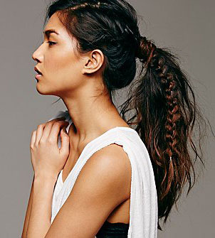 free-people-fishtail-braid-ponytail