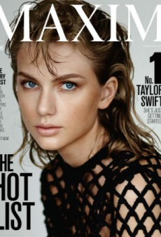 Taylor Swift Tops Maxim's Hot List, Talks Feminism