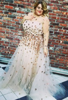 Nicolette Mason's Christian Siriano Wedding Dress Was Everything