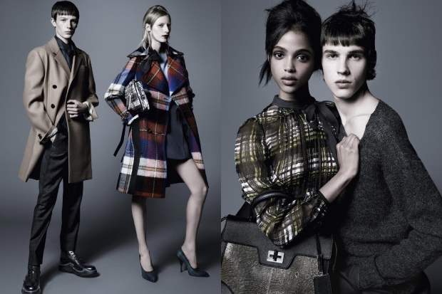 Ad Campaign Prada Pre-Fall 2015 by Steven Meisel