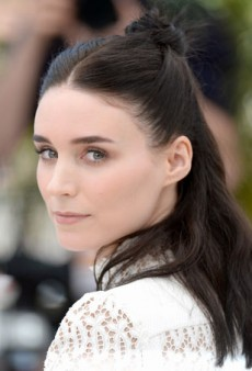 Why Rooney Mara's Half Updo Is the Perfect Summer Style