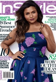 Mindy Kaling Stars on InStyle's June Issue, but What's Up with the Dress? (Forum Buzz)