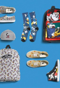 "Vans Releases ""Young at Heart"" Disney Collaboration"