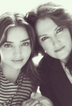 Miranda Kerr's Mum, Therese Kerr, Insists There's No Family Feud Over New Organic Venture