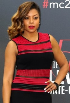 Taraji P. Henson Strikes a Pose to Promote 'Empire' in RVN