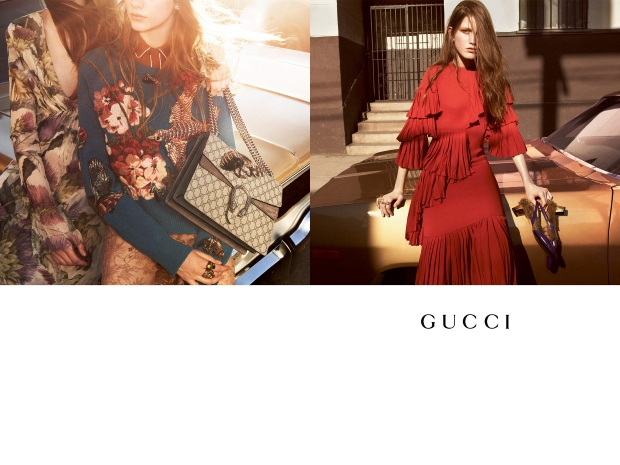 Gucci Fall 2015 Campaign by Glen Luchford