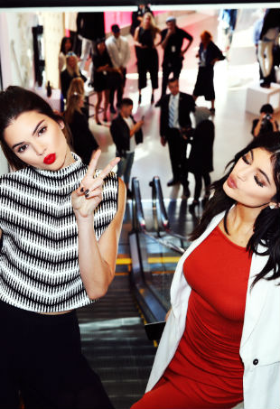 Kendall Kylie Topshop Launch