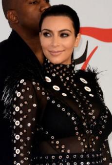 Kim Kardashian Learns How to Properly Spell Giorgio Armani