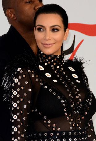 Kim Kardashian Giorgio Aramani