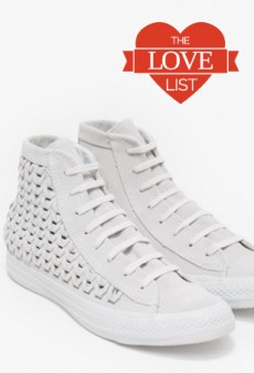 Suede Sneakers, Solid Perfume and More: The Love List