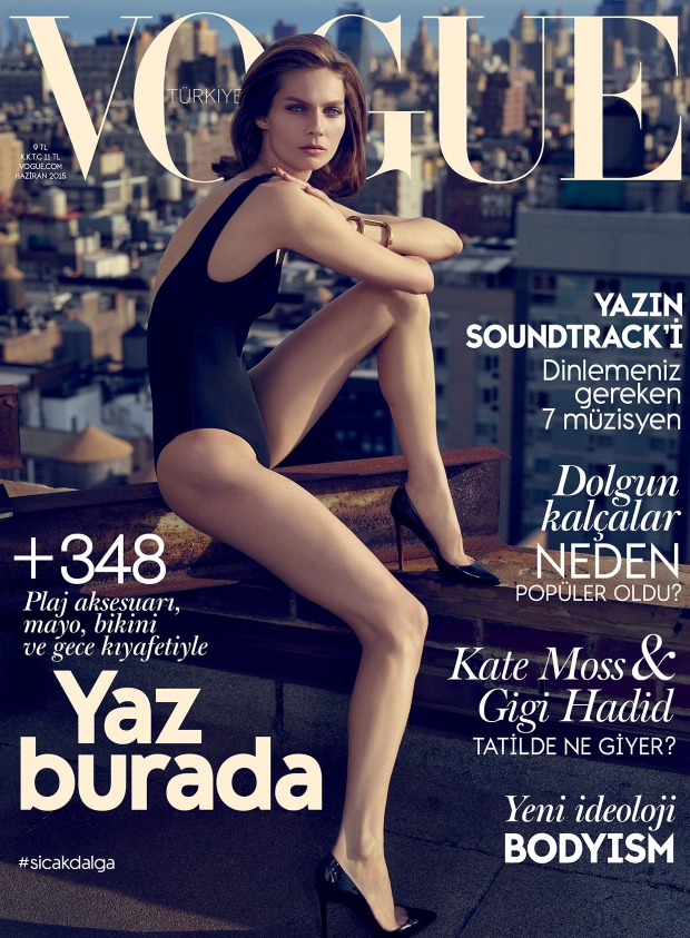Vogue Turkey June 2015 Karolin Wolter by Miguel Reveriego