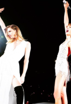 Andreja Pejić Joins Taylor Swift's Girl Squad On 1989 Tour