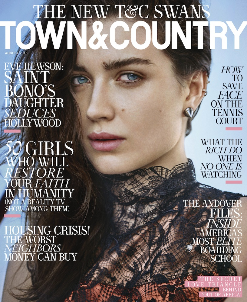 Eve Hewson Town & Country