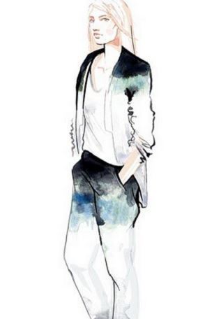 Zoe Jordan x River Island Collaboration sketch