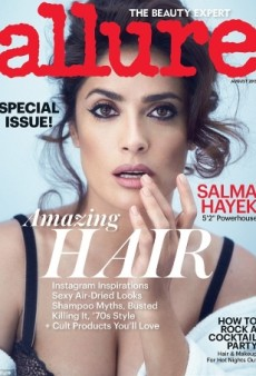 Salma Hayek Looks Gorgeous on Allure's August Cover (Forum Buzz)