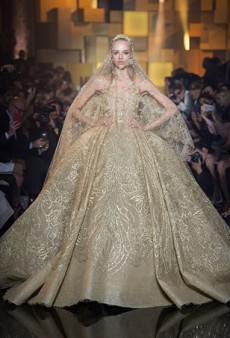 Elie Saab Haute Couture Fall 2015 Runway