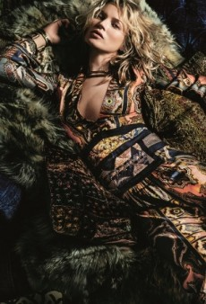 Kate Moss for Etro's Fall 2015 Campaign Is Surprisingly Good (Forum Buzz)