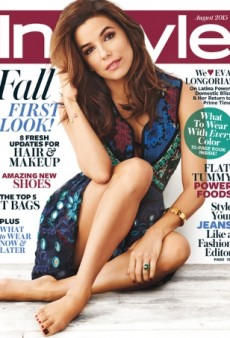 Eva Longoria Goes Barefoot on InStyle's Relaxed August Cover (Forum Buzz)