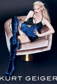Only Lara Stone Could Pull off the Makeup in Kurt Geiger's Fall Campaign (Forum Buzz)
