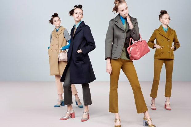 Prada Fall 2015 Ad Campaign by Steven Meisel