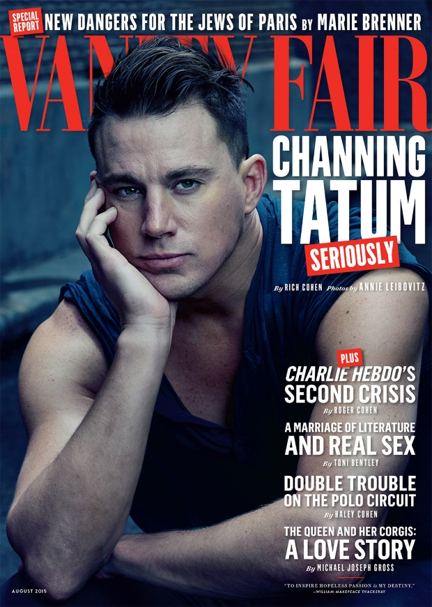 Vanity Fair August 2015 Channing Tatum by Annie Leibovitz