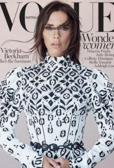 Is Victoria Beckham's Vogue Australia Cover Outstanding — or a Photoshop Disaster? (Forum Buzz)