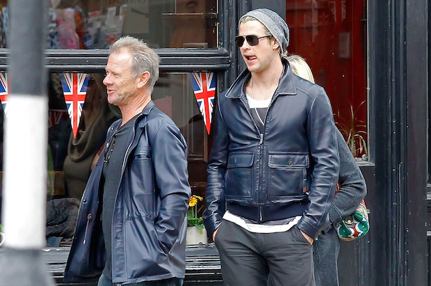 Chris Hemsworth and Dad Craig