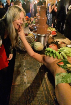 Uproar After Naked Models Hired as Fruit Platters Hand-Feed Guests at Sydney Restaurant