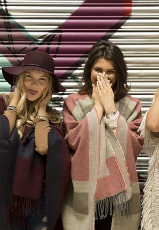 Models pose in Primark Clothing