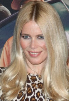 Claudia Schiffer Designed a Cashmere Collection for TSE