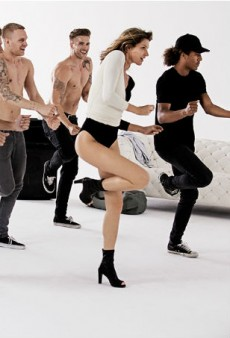 WATCH: Gisele Bündchen Busts a Move in Stuart Weitzman's First Commercial