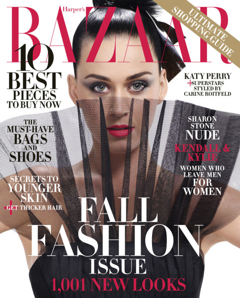 Katy Perry Harper's Bazaar Fall 2015 Cover
