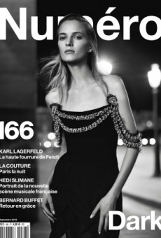 Daria Strokous Gives Numéro Its Best Black and White Cover to Date (Forum Buzz)