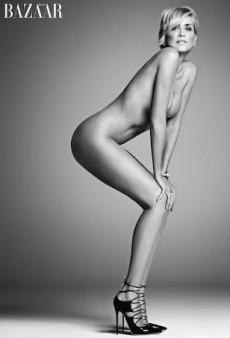 Sharon Stone Bares All for Harper's Bazaar