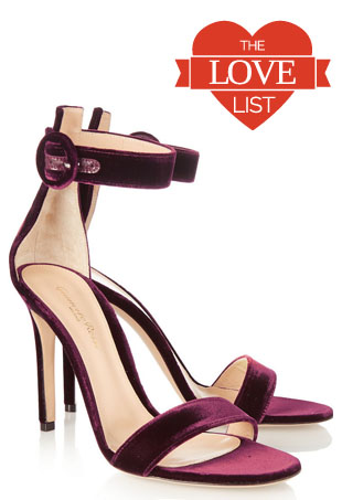 Velvet Shoes: The Love List