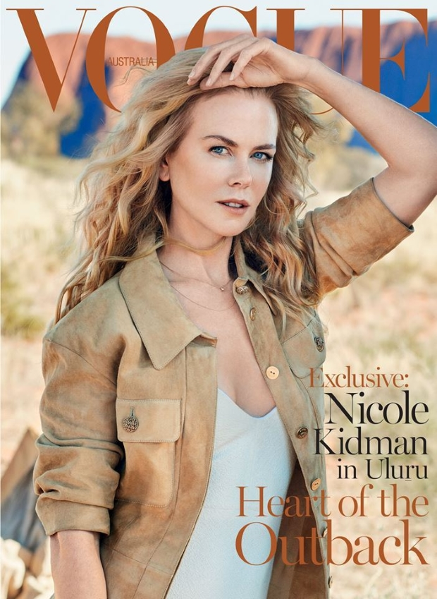 Vogue Australia September 2015 Nicole Kidman by Will Davidson