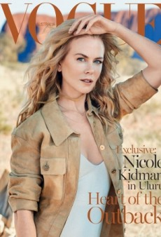 Nicole Kidman Stars on an Earthy Vogue Australia Cover  (Forum Buzz)