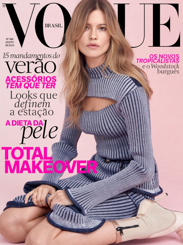 Vogue Brazil August 2015 Behati Prinsloo by Zee Nunes