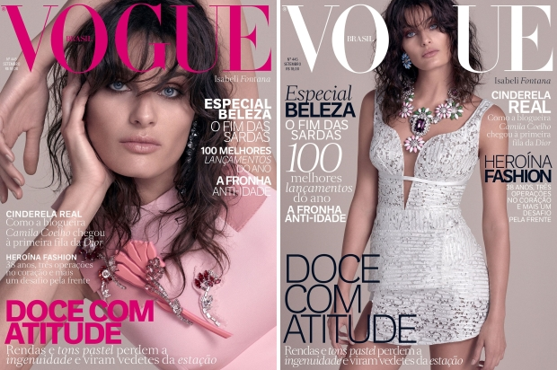 Vogue Brazil September 2015 Isabeli Fontana by Zee Nunes