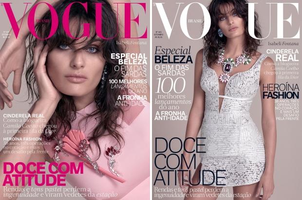 Vogue Brazil September 2015 Isabeli Fontana by Zee Nunes