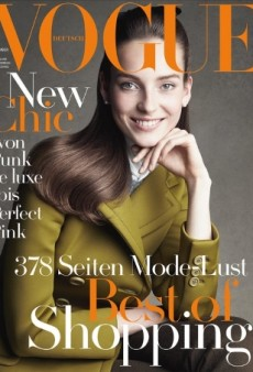 Julia Bergshoeff Is All Smiles on Vogue Germany's September Cover (Forum Buzz)